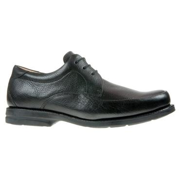 ANATOMIC MENS COMFORT LACE SHOE - BLACK LEATHER