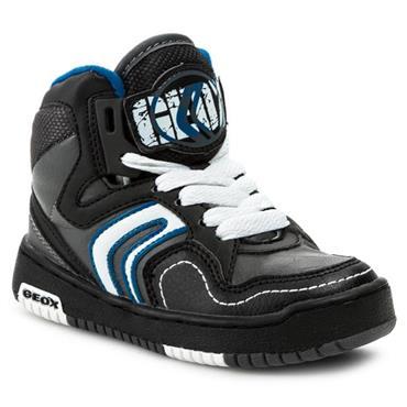 GEOX SKATE BOOT - GREY BLUE