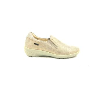 G COMFORT WOMENS WATERPROOF GUSSET SHOE - BEIGE
