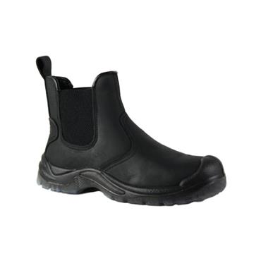 RGP MENS INSULATED DEALER BOOT - BLACK LEATHER