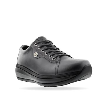 JOYA ORTHOLITE WEDGE TIE SHOE - BLACK