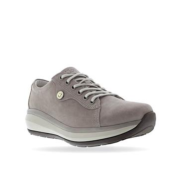JOYA WOMENS ORTHOLITE WEDGE LACE SHOE - GREY