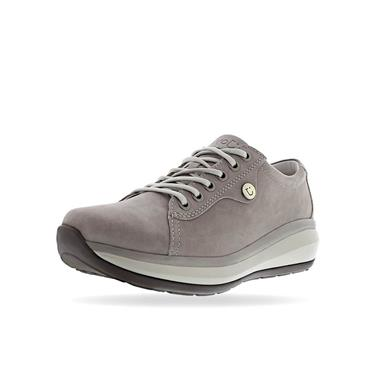 JOYA ORTHOLITE WEDGE TIE SHOE - GREY