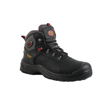 RGP MENS SAFETY LACE BOOT - BLACK