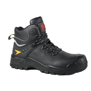 RGP STEEL TOE BOOT - BLACK
