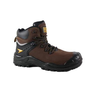 RGP STEEL TOE BOOT - BROWN