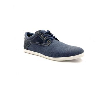 GJK GTS CASUAL TIE SHOE - NAVY