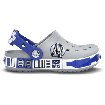CROCS STAR WARS GITD CLOG - GREY BLUE