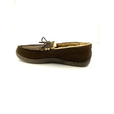 JO & JOE GTS MOCC STITCH CLOSED SLIPPER - BROWN