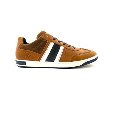 TOMMY BOWE MENS LACE CASUAL SHOE - TAN WHITE