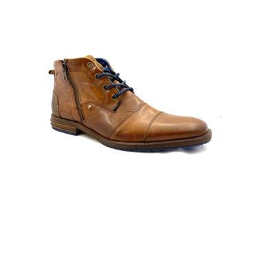 ESCAPE GTS ZIP TIE T/CAP ANKLE BOOT - BRANDY