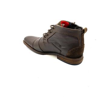 ESCAPE GTS ZIP TIE T/CAP ANKLE BOOT - BROWN