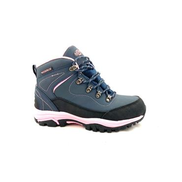 NORTHWEST WOMENS LACE HIKING BOOT - NAVY PINK