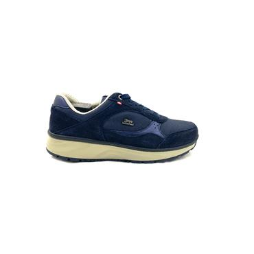 JOYA WOMENS ORTHOLITE WEDGE LACE SHOE - NAVY