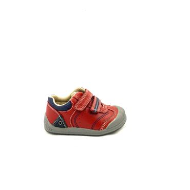 STARTRITE BOYS 2 VEL STRAP SHOE - RED