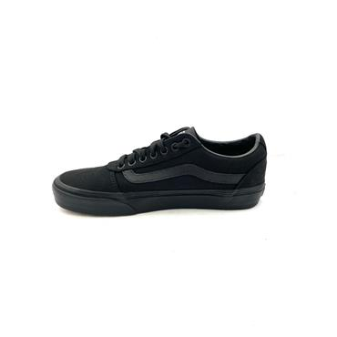 VANS MENS OLD SKOOL CANVAS LACE TRAINER - BLACK