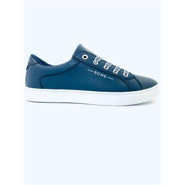 TOMMY BOWE WOMENS LACE TRAINER - NAVY