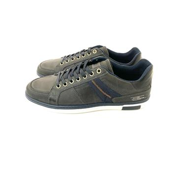 TOMMY BOWE MENS LACE CASUAL SHOE - CHARCOAL