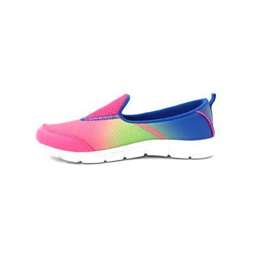JHAYBER GIRLS SLIP ON RUNNER - FUCHSIA MULTI