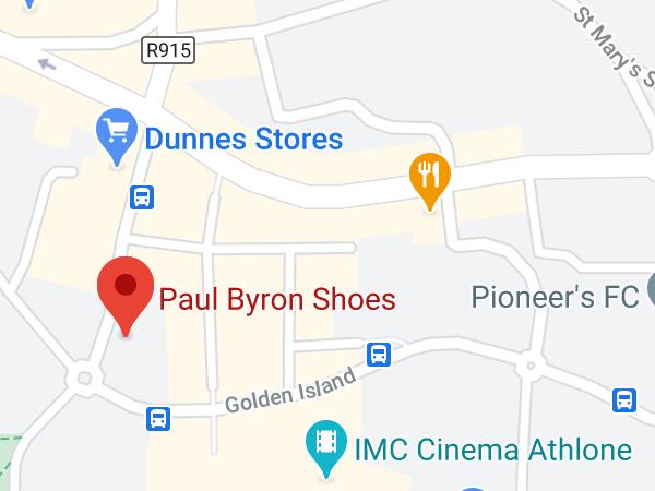 Paul Byron Shoes, Unit 9, Irishtown Central, Golden Island, Athlone, N37 F990, Co. Westmeath
