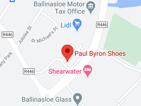 Paul Byron Shoes, Marina Point, New Road, Ballinasloe, Co. Galway