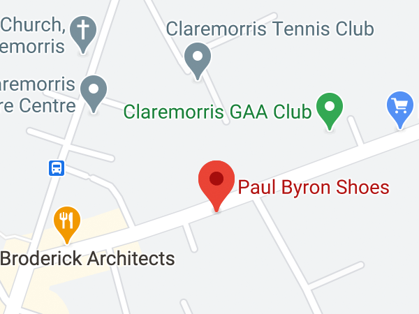 Paul Byron Shoes, Ballyhaunis Road, Claremorris, Co. Mayo