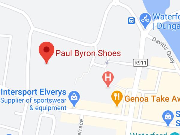 Paul Byron Shoes, Dungarvan Shopping Centre, Shandon, Dungarvan, Co. Waterford