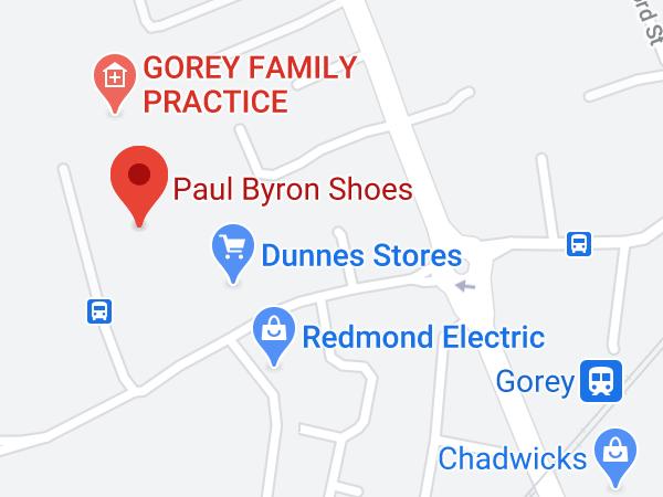 Paul Byron Shoes, Unit 3, Gorey Shopping Centre, The Avenue, Gorey, Co. Wexford