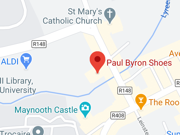 Paul Byron Shoes, Unit 5 Manor Mills Shopping Centre, Mill Street, Maynooth, Co. Kildare