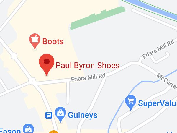 Paul Byron Shoes, Harbour Place Shopping Centre, Harbour Street, Mullingar, Co. Westmeath