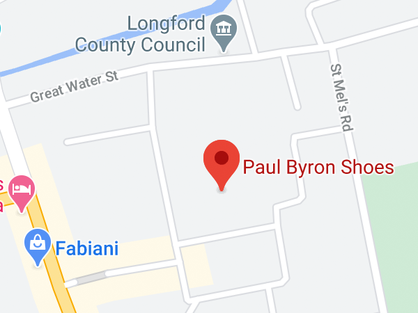 Paul Byron Shoes, Longford Shopping Centre, Great Water Street, Longford, Co. Longford