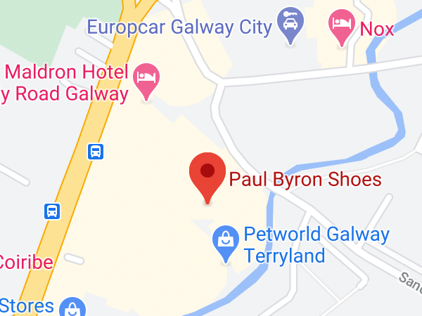 Paul Byron Shoes, Unit 13 Terryland House, Terryland Retail Park, Headford Road, Galway, Co. Galway