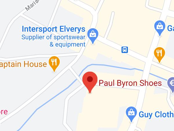 Paul Byron Shoes, Unit 11, The Bridge Centre, Distillery Lane, Tullamore, Co. Offaly