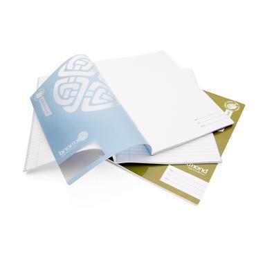 ORMOND PKT.3 A4 160pg MANUSCRIPT BOOK DURABLE COVER