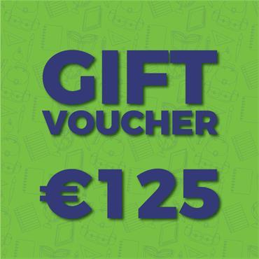 €125 Gift Voucher (Online)