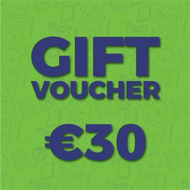 €30 Gift Voucher (Online)