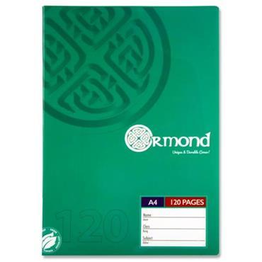 Ormond A4 Manuscript 120pg Durable Cover