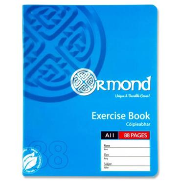 Ormond 88pg A11 Durable Cover Copy Book