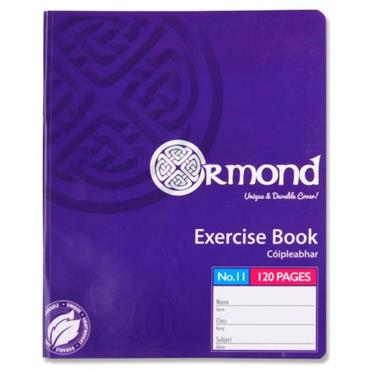 Ormond 120pg No.11 Durable Cover Copy Book
