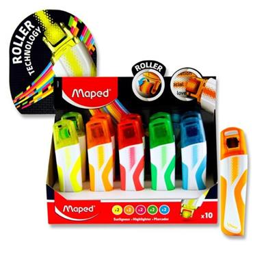 Maped Fluo'peps Roller Highlighter