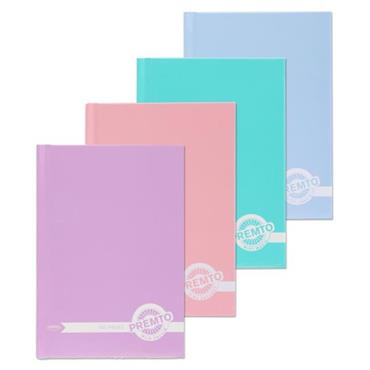 Premto A6 Pastel 160pg Hardcover Notebook