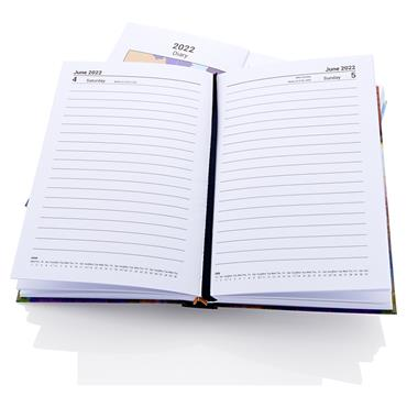 Premier 2022 A5 Diary - Page A Day Fancy