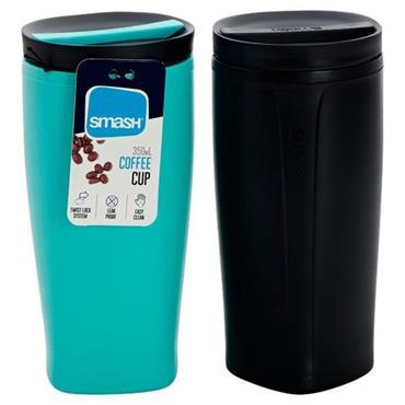 Smash 350ml Twist & Lock Coffee Cup