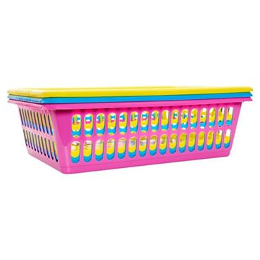 Premier Universal 395x270x110mm Multipurpose Stackable Basket