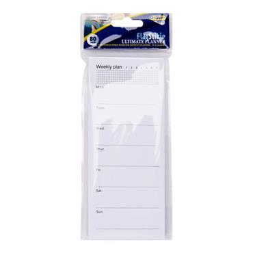 Stik-ie 80pg Weekly Plan / Today Plan Sticky Note Size 60x140mm