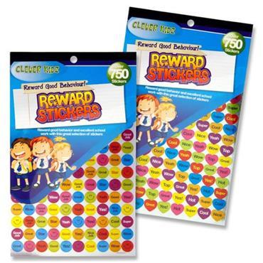 Clever Kidz 750+ Reward Stickers