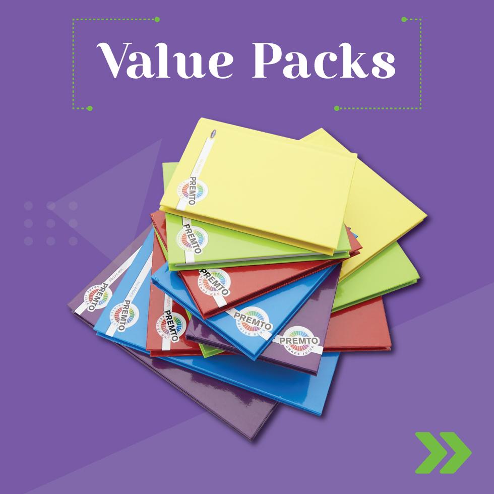 Value Packs | Writeaway.ie
