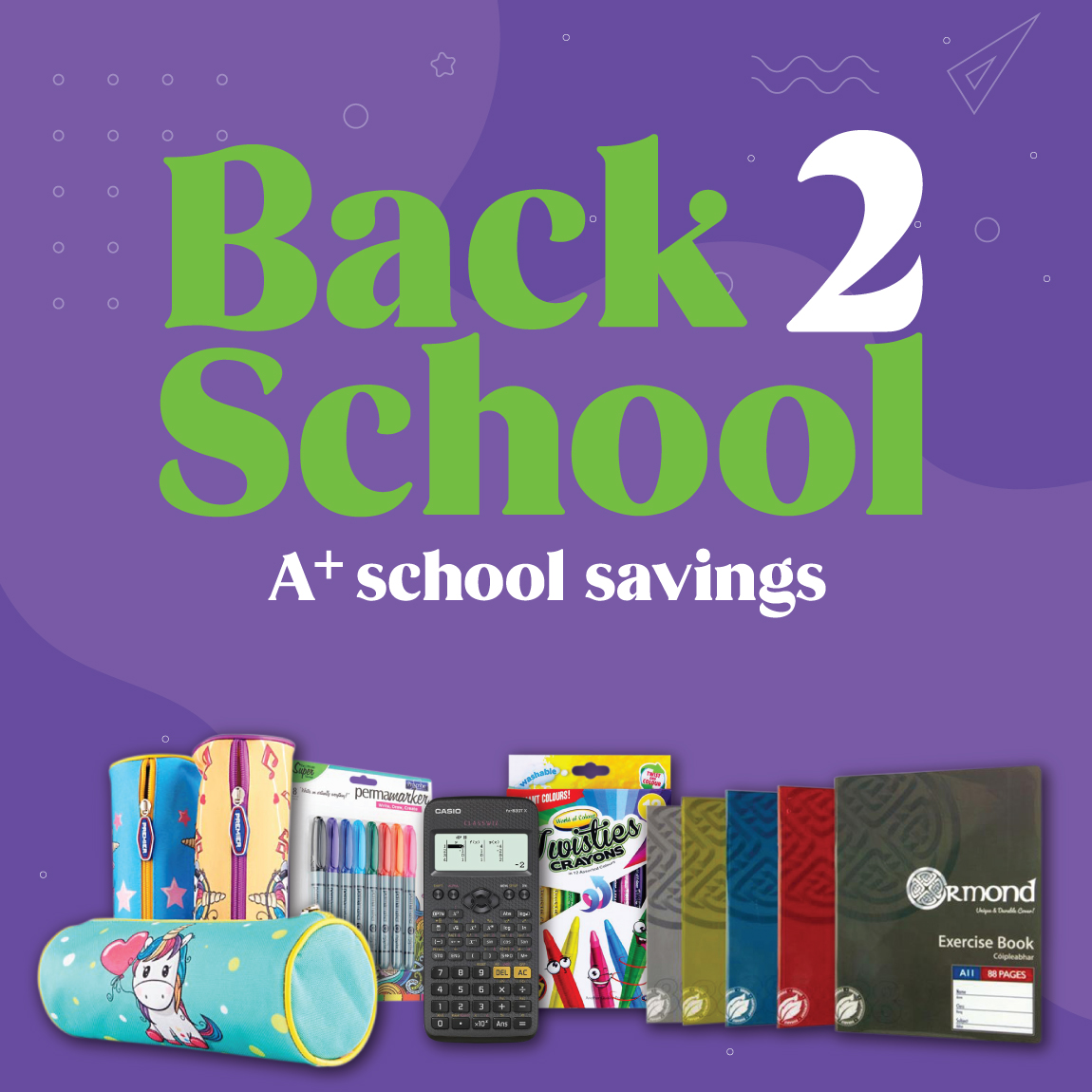 Back to School value  | Back 2 School | Writeaway.ie