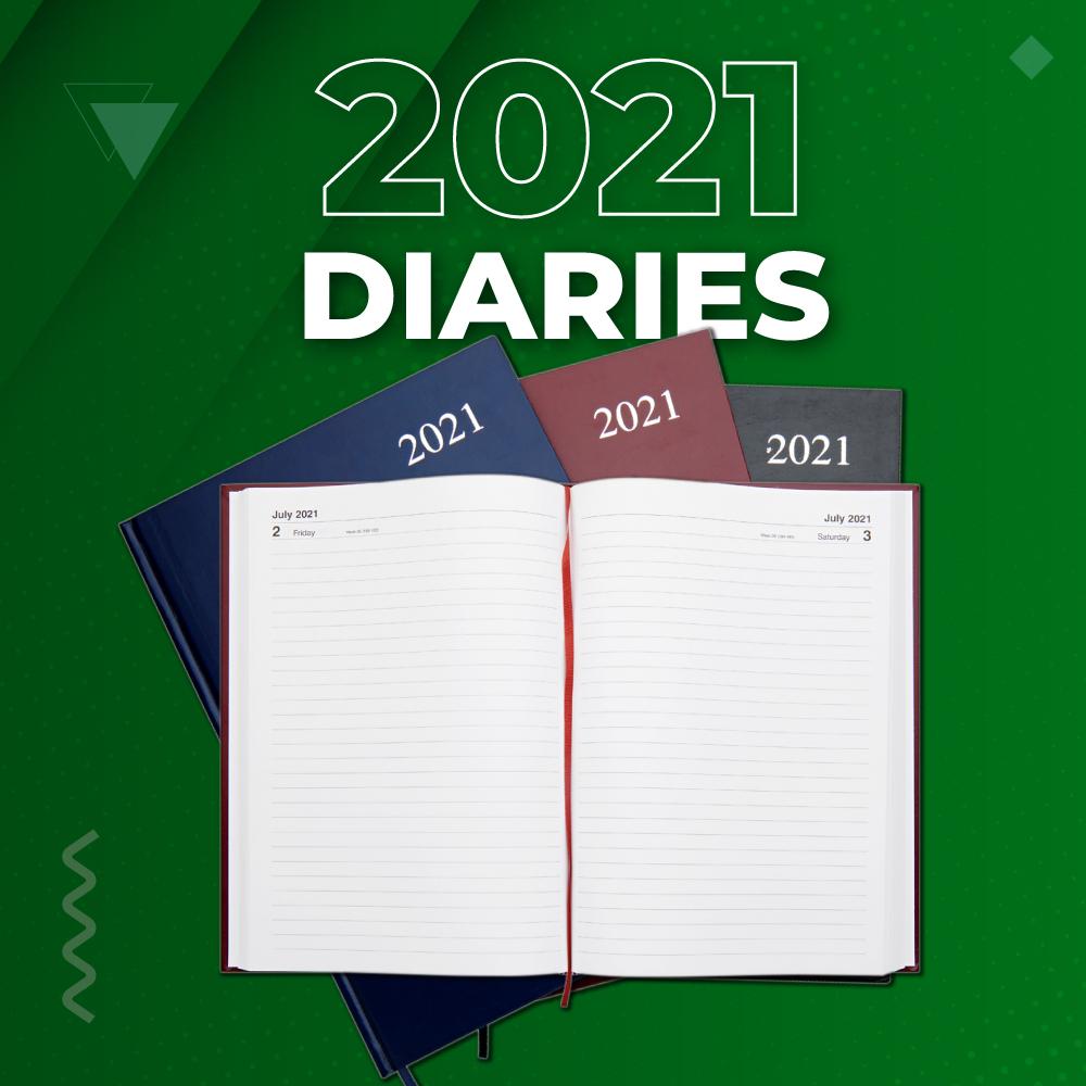 2021 Diaries | Writeaway.ie