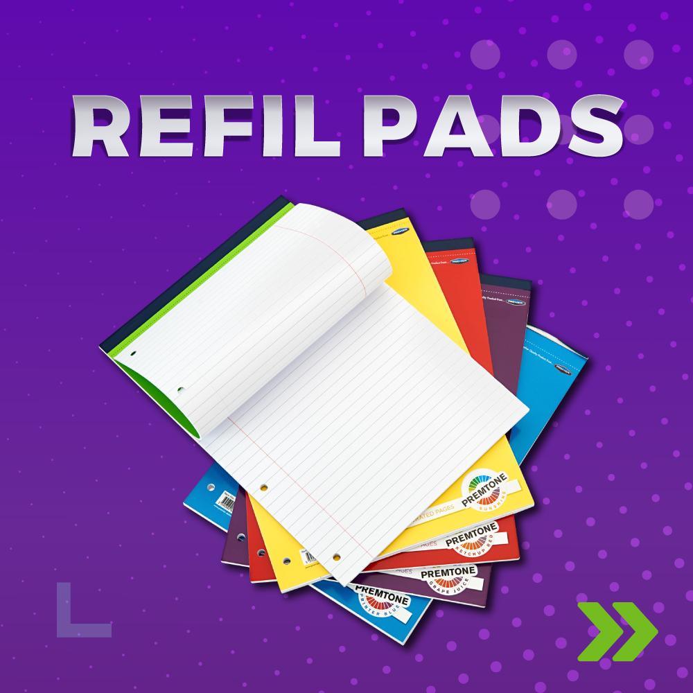Refil Pads | Back 2 College | Writeaway.ie